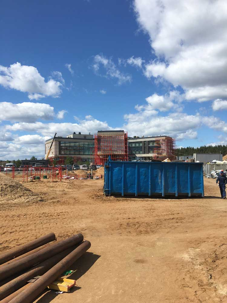 Коммерческое строительство, Новая Рига
