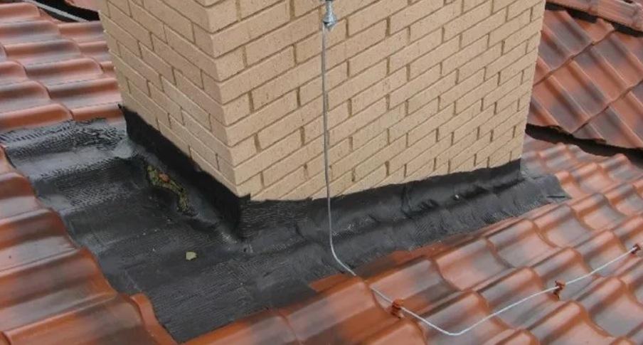 Герметизация прямоугольной трубы на крыше