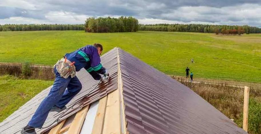 перекрыть крышу на даче цена работы